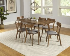 Dining Table Sets Rockaway 7 Piece Extendable Solid Wood Dining Set