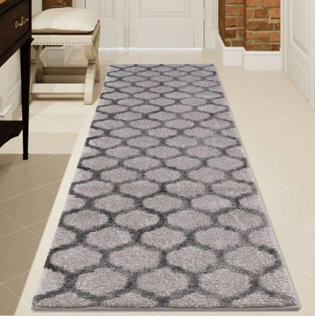 Oswald Gray Area Rug Rug Size: Runner 3' x 8'