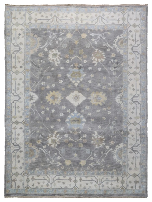 One-of-a-KindMitchel Oriental Hand-Knotted Wool Brown Area Rug
