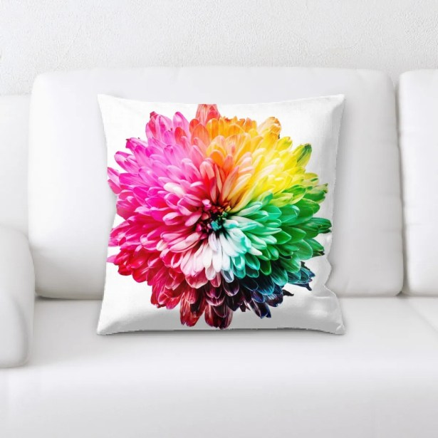 Adamson Sharp Colors Throw Pillow