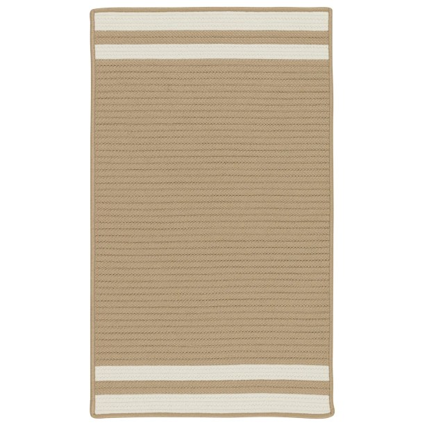 Newest Kellie Stripe Hand Braided Brown Ivory Indoor Outdoor Area