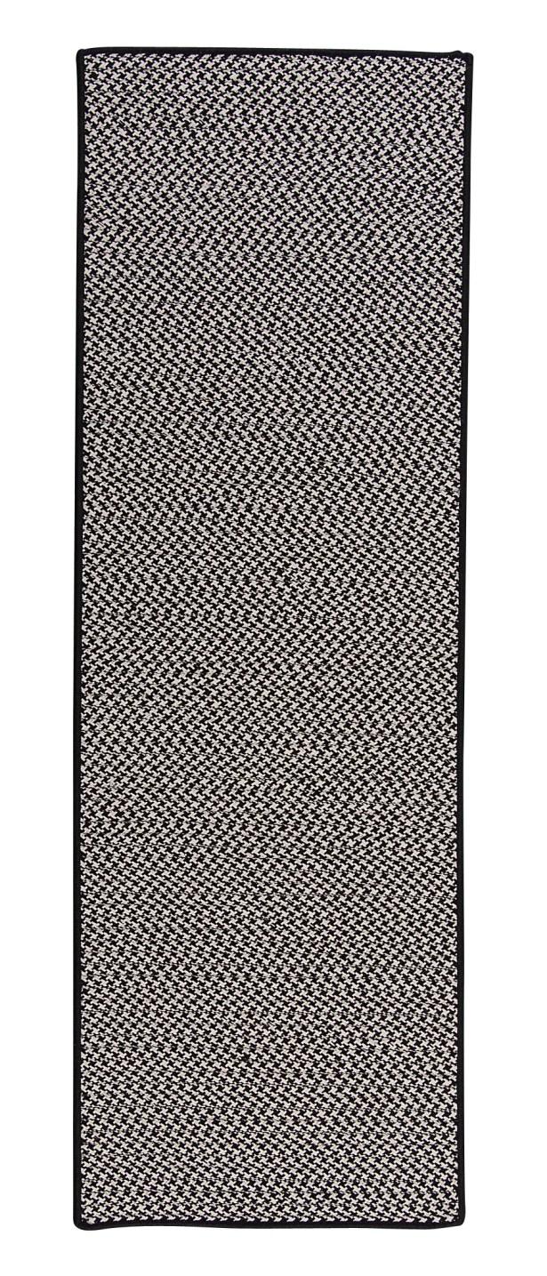 Duane Hand-Braided Gray Indoor/Outdoor Area Rug Rug Size: Runner 2'6