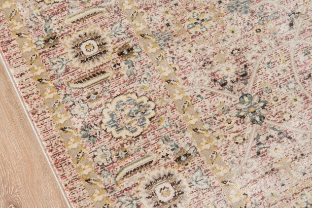 Gianna Brown/Beige Area Rug Rug Size: Rectangle 9' x 12'