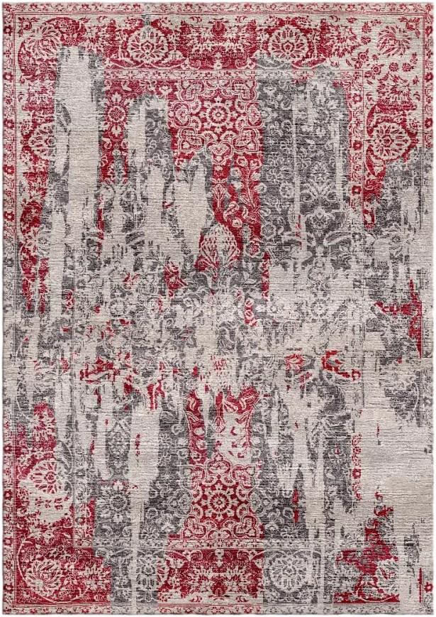 Aliza Handloom Red/Beige Area Rug Rug Size: Rectangle 9' x 12'