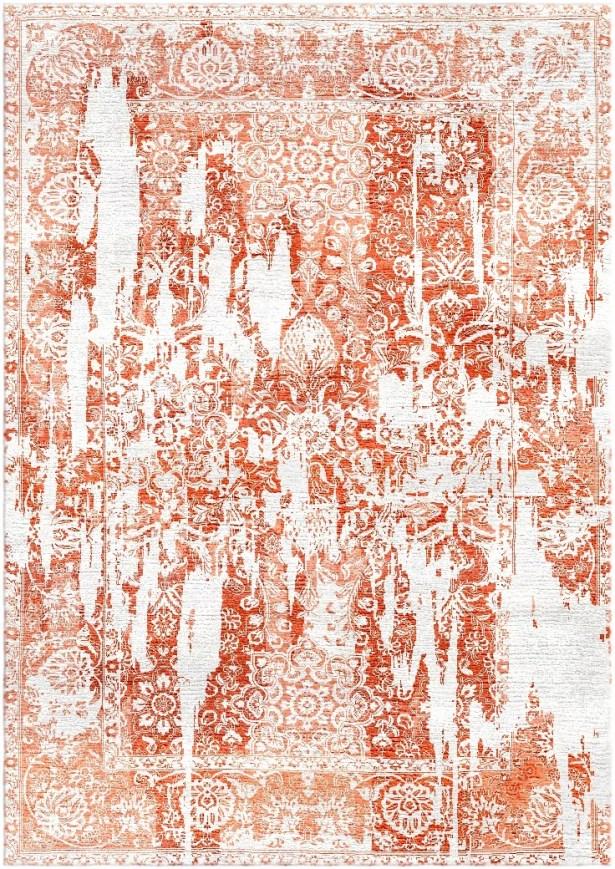 Aliza Handloom Rust Area Rug Rug Size: Rectangle 8' x 10'