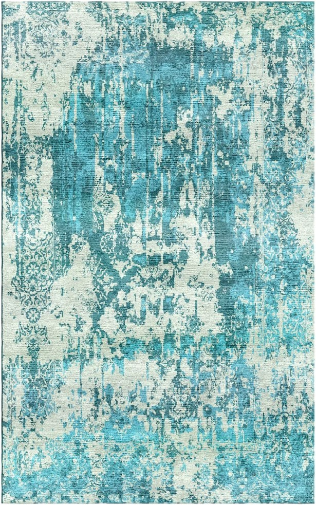 Aliza Handloom Blue Area Rug Rug Size: Rectangle 5'7