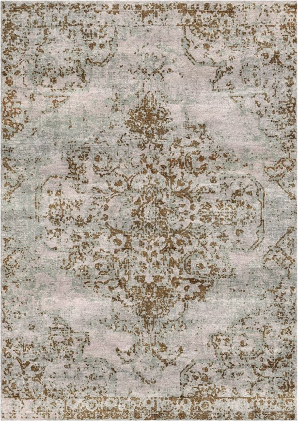 Aliza Handloom Beige/Brown Area Rug Rug Size: Rectangle 4' x 6'