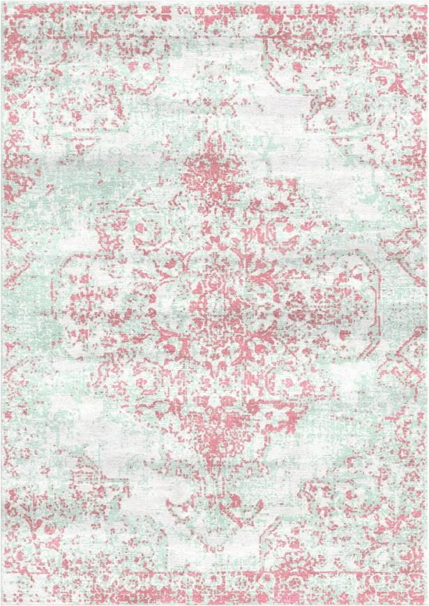 Aliza Handloom Pink Area Rug Rug Size: Square 6'