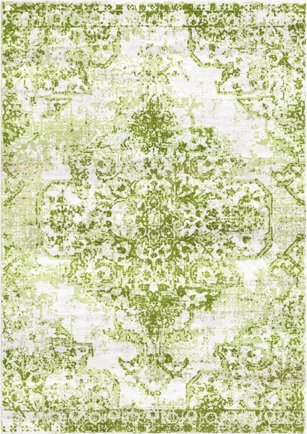 Aliza Handloom Green Area Rug Rug Size: Square 6'