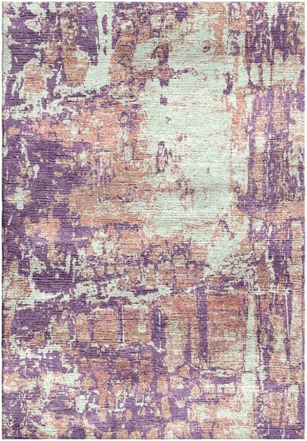 Ashford Handloom Lavender/Blue Area Rug Rug Size: Round 9'