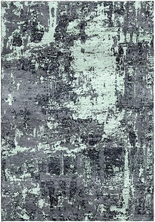 Ashford Handloom Gray/Green Area Rug Rug Size: Rectangle 8' x 10'