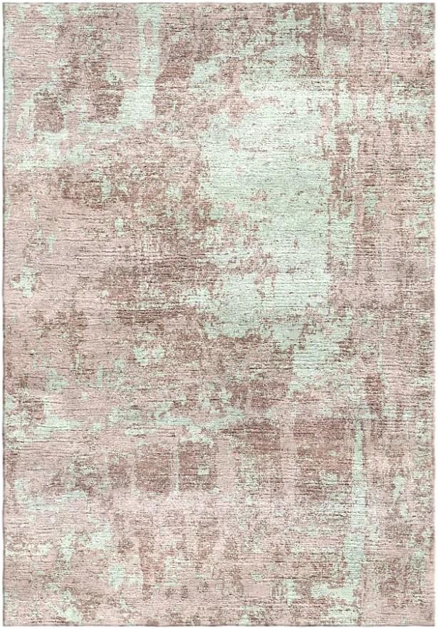 Ashford Handloom Peach/Sage Area Rug Rug Size: Square 9'