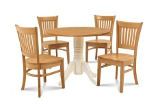 Dining Table Sets Humphrey 5 Piece Drop Leaf Solid Wood Dining Set