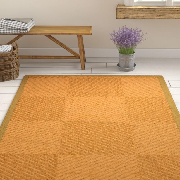 Luhrmann Hand Woven Beige/Brown Area Rug Rug Size: Rectangle 3' X 5'