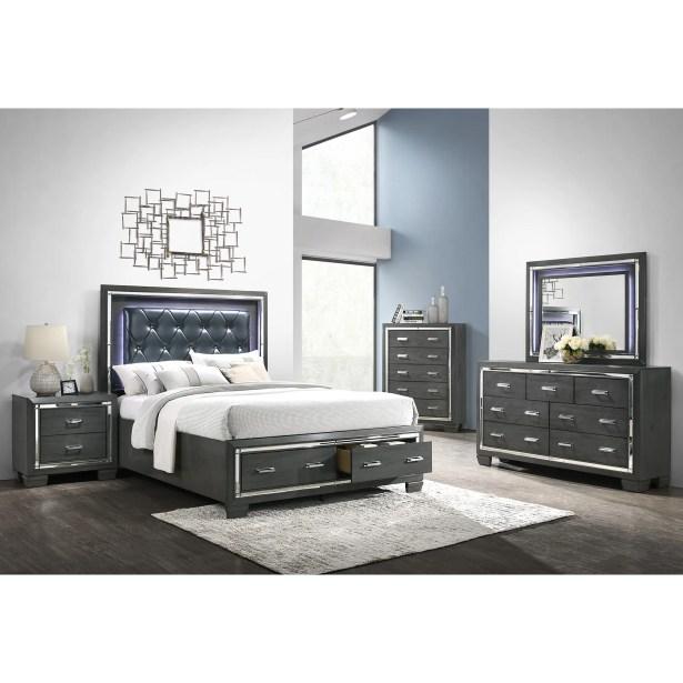Anthea Platform 5 Piece Bedroom Set Size: King
