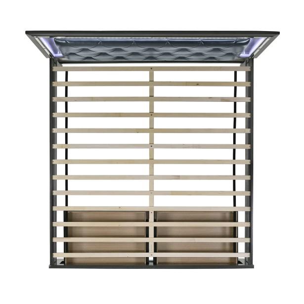 Anthea Upholstered Storage Platform Bed Size: King