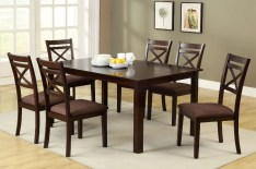 Dining Table Sets Thor 7 Piece Solid Wood Dining Set