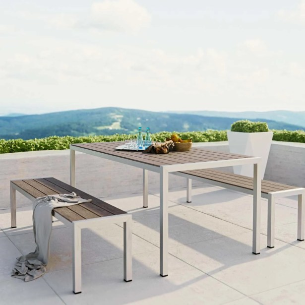 Coline 3 Piece Dining Set