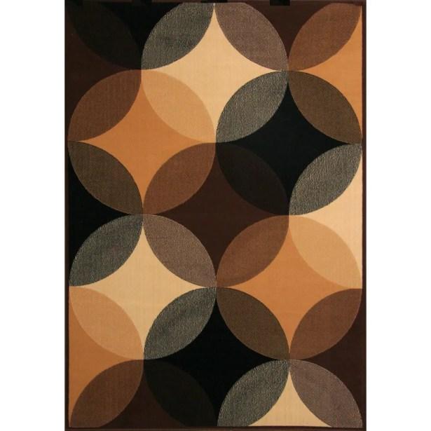 Delmonte Black/Brown/Beige Indoor/Outdoor Area Rug