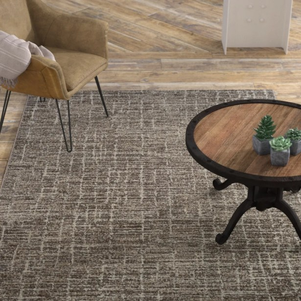 Andover Woven Beige Area Rug Rug Size: Rectangle 7'10