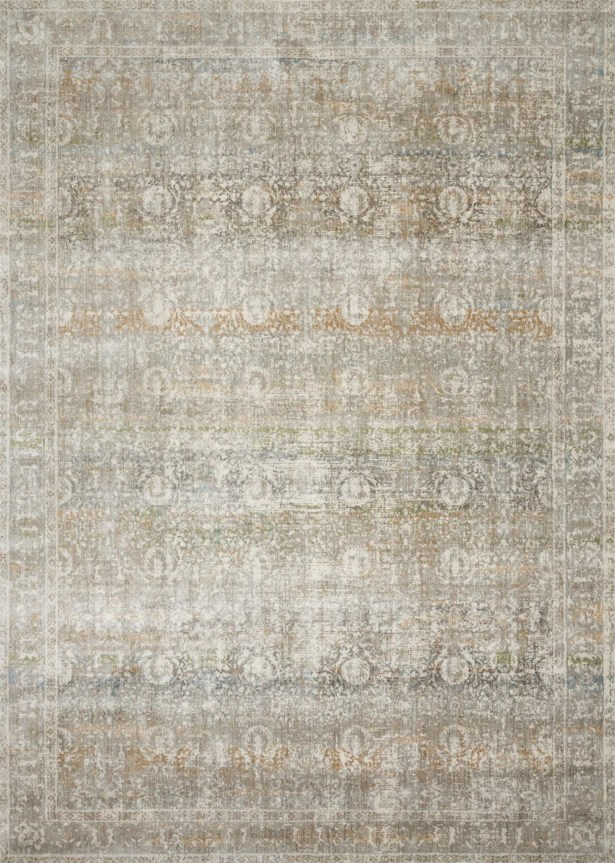 Steward Gray Area Rug Rug Size: Rectangle 2'7