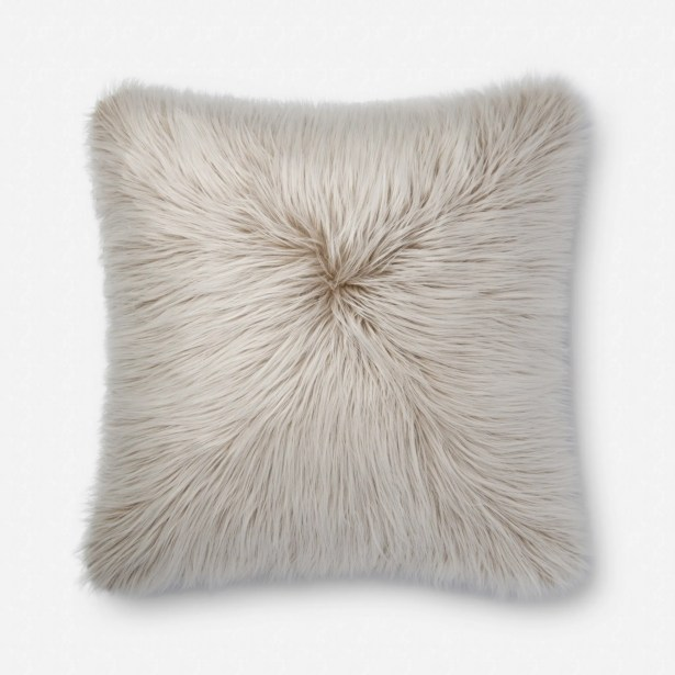 Cameo Pillow Fill Material: Down/Feather, Color: Taupe