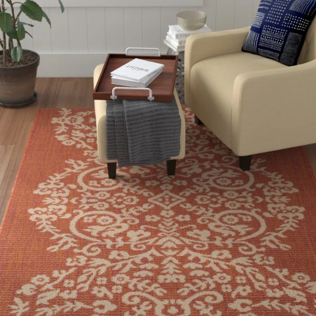 Joliet Tapestry Cinnamon Stick Area Rug Rug Size: Rectangle 6'7