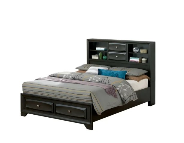 Huckleberry Storage Platform Bed Size: California King
