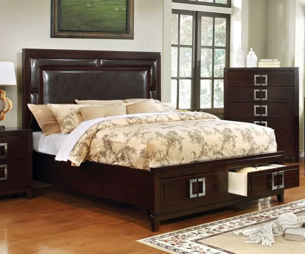 Lamontagne Upholstered Storage Platform Bed Size: California King