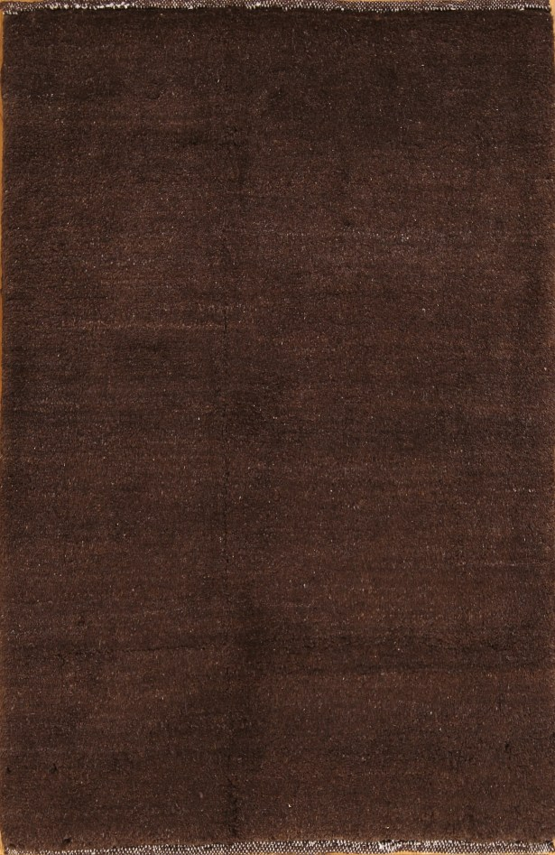 One-of-a-Kind Nelsen Contemporary Gabbeh Shiraz Persian Hand-Knotted 2'9