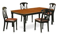 Dining Table Sets Pimentel 5 Piece Solid Wood Dining Set