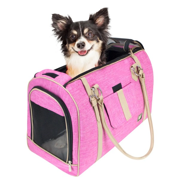 Heyman Soft Airline Approved Stylish Pet Carrier Size: 11