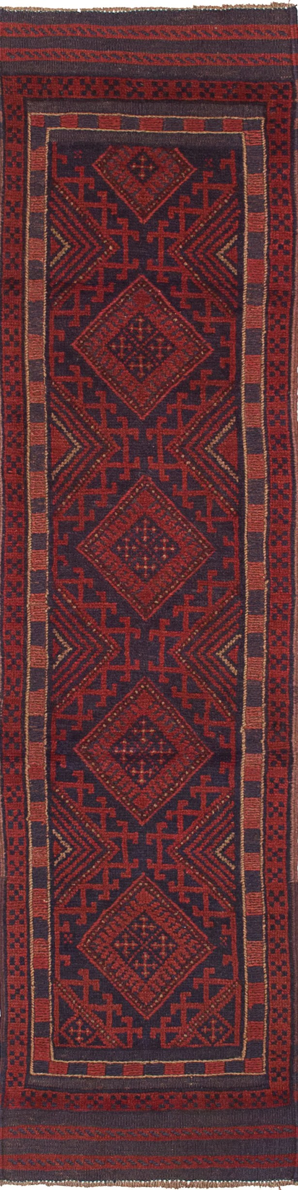 One-of-a-Kind Alarica Hand-Knotted Wool Red Area Rug