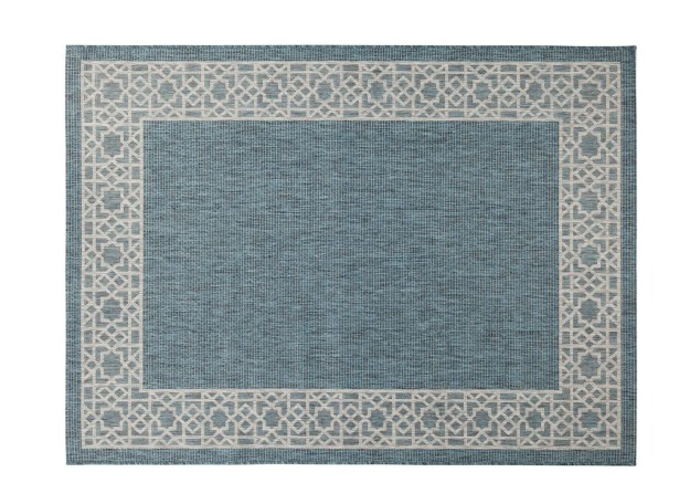 Selina Blue/Gray Indoor/Outdoor Area Rug Rug Size: Rectangle 5' x 8'