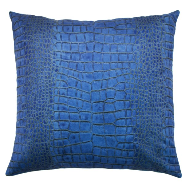 Ferris Throw Pillow Color: Indigo