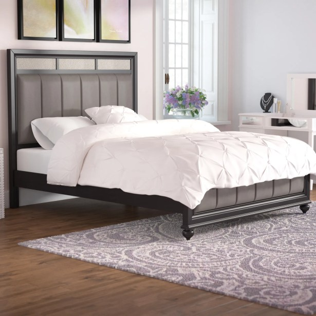 Chappell Upholstered Panel Bed Size: Queen
