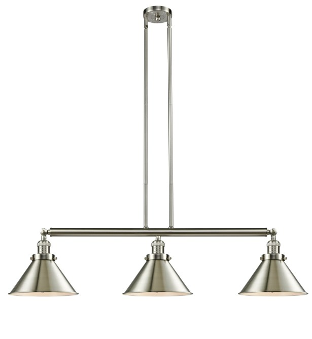 Stonecrest 3-Light Kitchen Island Pendant Finish: Oil Rubbed Bronze, Bulb Type: LED