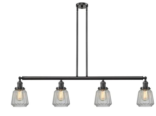 Vinson 4-Light Kitchen Island Pendant Shade Color: Mercury Plated, Bulb Type: LED, Finish: Antique Brass