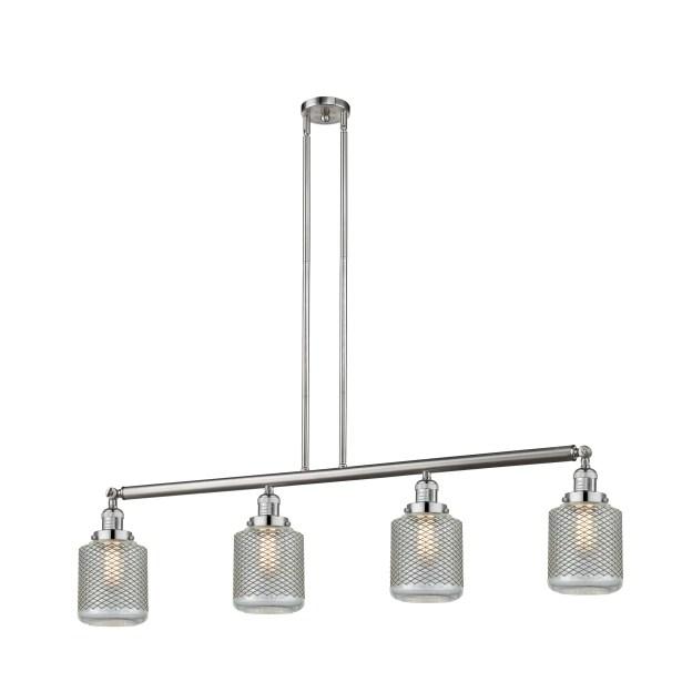 Iyana 4-Light Kitchen Island Pendant Bulb Type: LED, Finish: Antique Copper