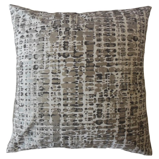 Whitlock Graphic Cotton Pillow Size: 22