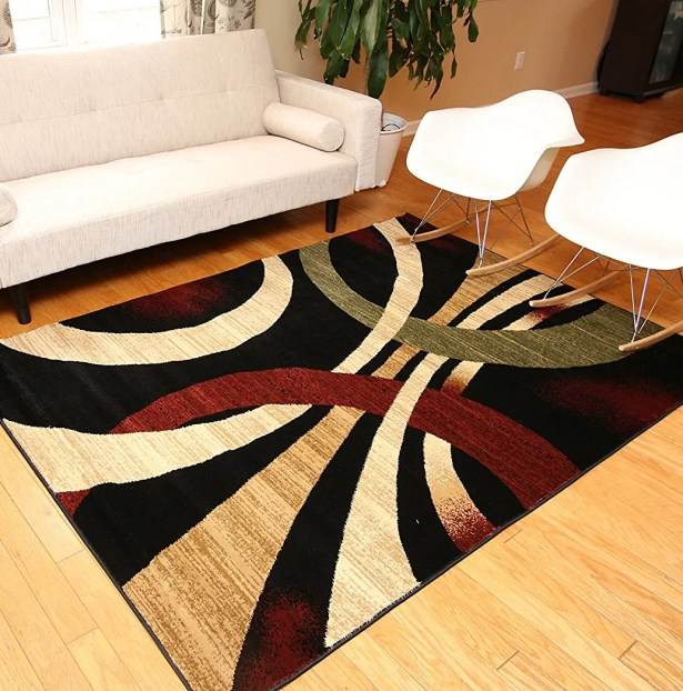 Andreas Black Area Rug Rug Size: Rectangle 9'10