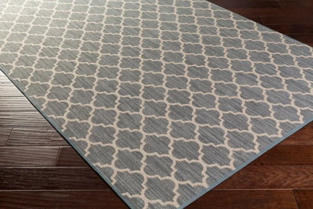 Chesterville Gray Area Rug Rug Size: Rectangle 10' x 14'