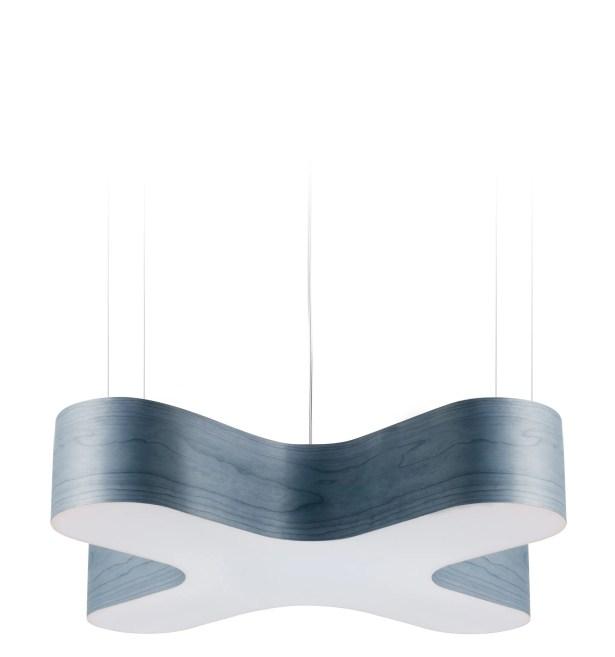 X-Club LED Novelty Pendant Shade Color: Blue