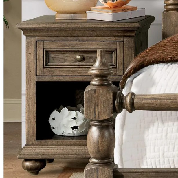 Hairston 1 Drawer Nightstand