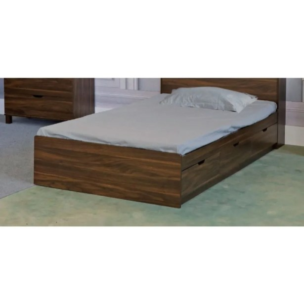 Marcus Storage Panel Bed Size: Twin