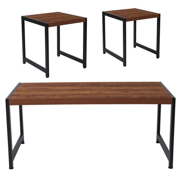 Cullen 3 Piece Coffee Table Set