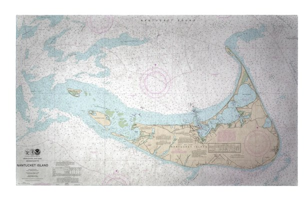 Nantucket Island MA Doormat Mat Size: Rectangle 2'6