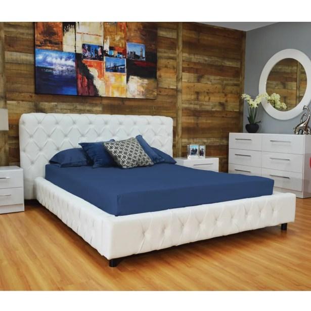 Burnley Upholstered Platform Bed Size: King