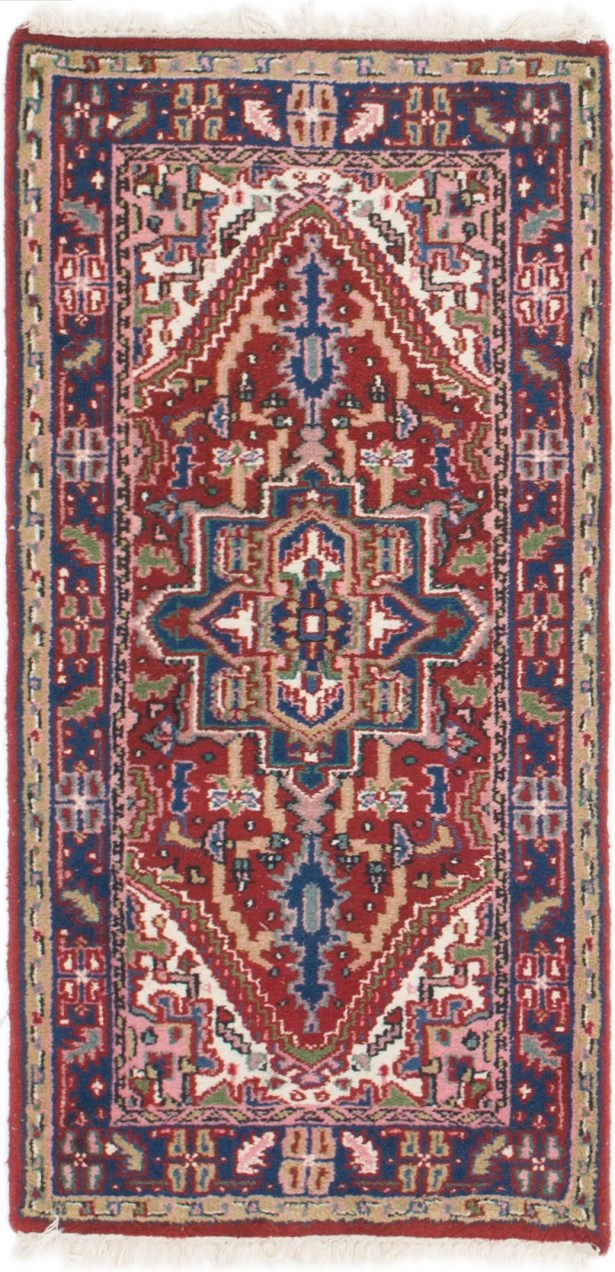 One-of-a-Kind Palouse Hand-Knotted Runner 2'4