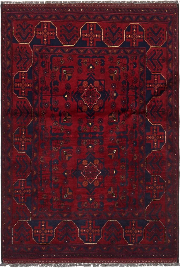 One-of-a-Kind Auxvasse Hand-Knotted 3'4